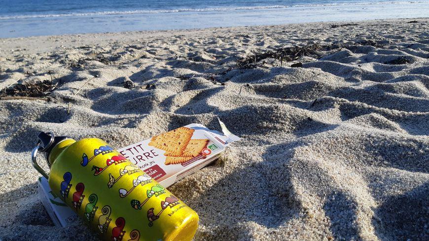 Combien d'enfants ont encore pris le goûter sur la plage ?