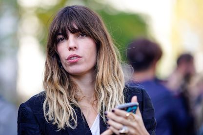 Lou Doillon, auteure-compositrice-interprète, à Paris,  le 29 septembre 2018.