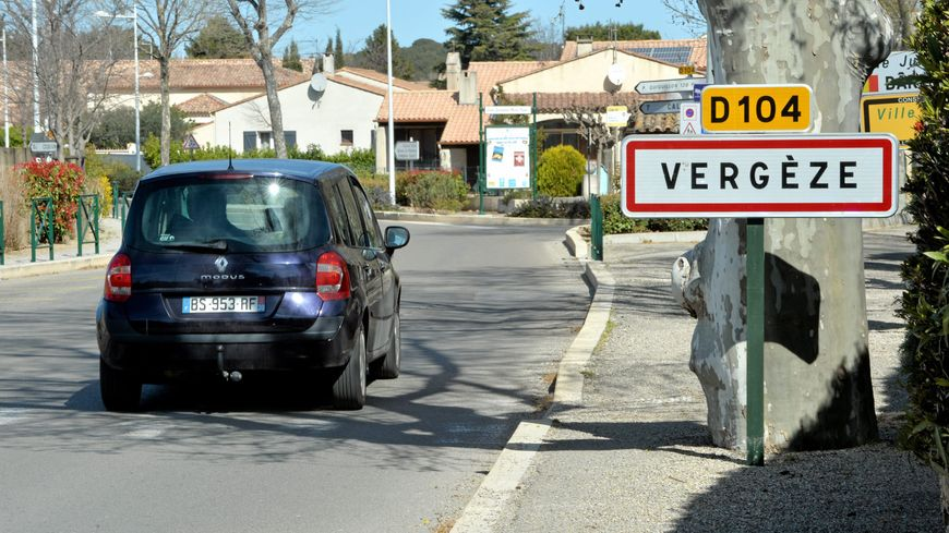 L'entrée de Vergèze