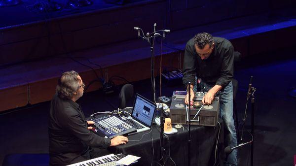 Improvisation de Xavier Garcia et Lionel Marchetti