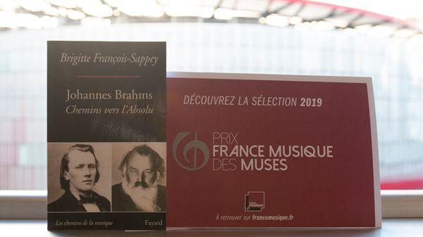 « Johannes Brahms » de Brigitte François-Sappey - Sélection Prix France Musique des Muses 2019