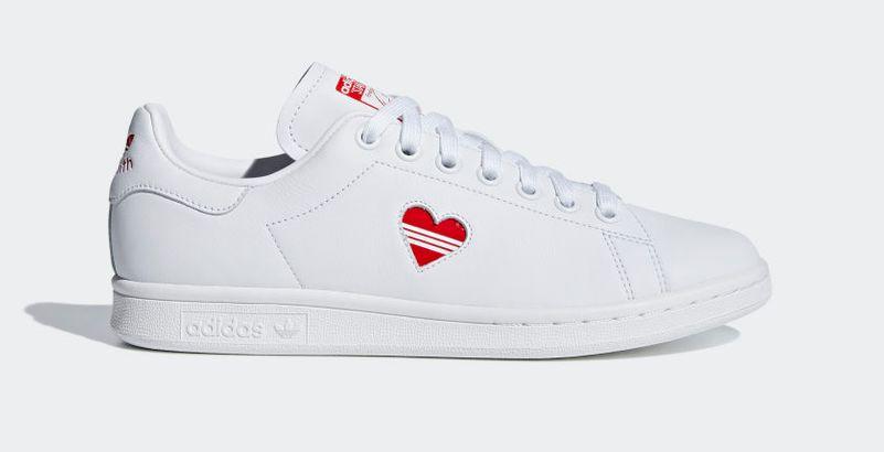 adidas femme stan smith coeur