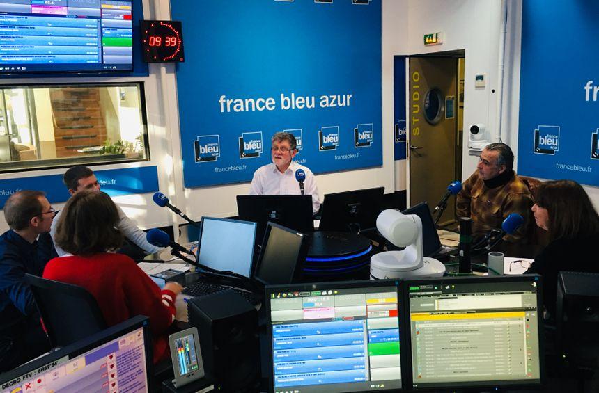 Le Grand Studio de France Bleu Azur - La Vie en Bleu - Stéphane Couraud