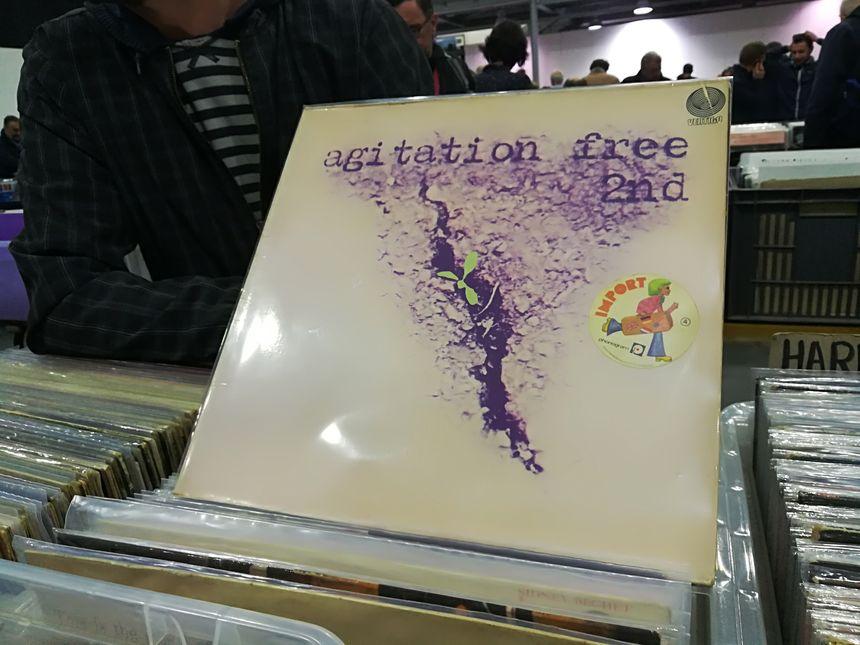 Ce vinyle du groupe allemand Agitation Free avoisine les 400 euros.