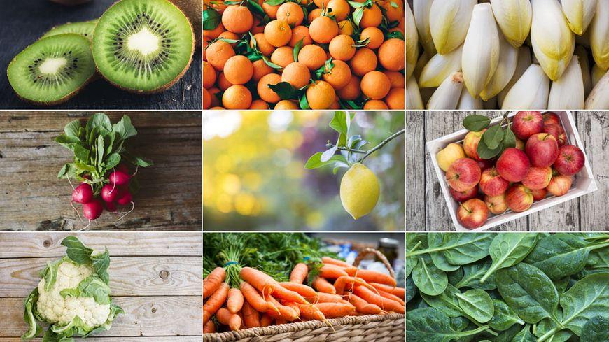 Consommer des fruits et légumes de saison a l'avantage d'avoir des qualités gustatives et nutritionnelles bien supérieures aux produits récoltés encore verts et mûris lors de longs trajets.