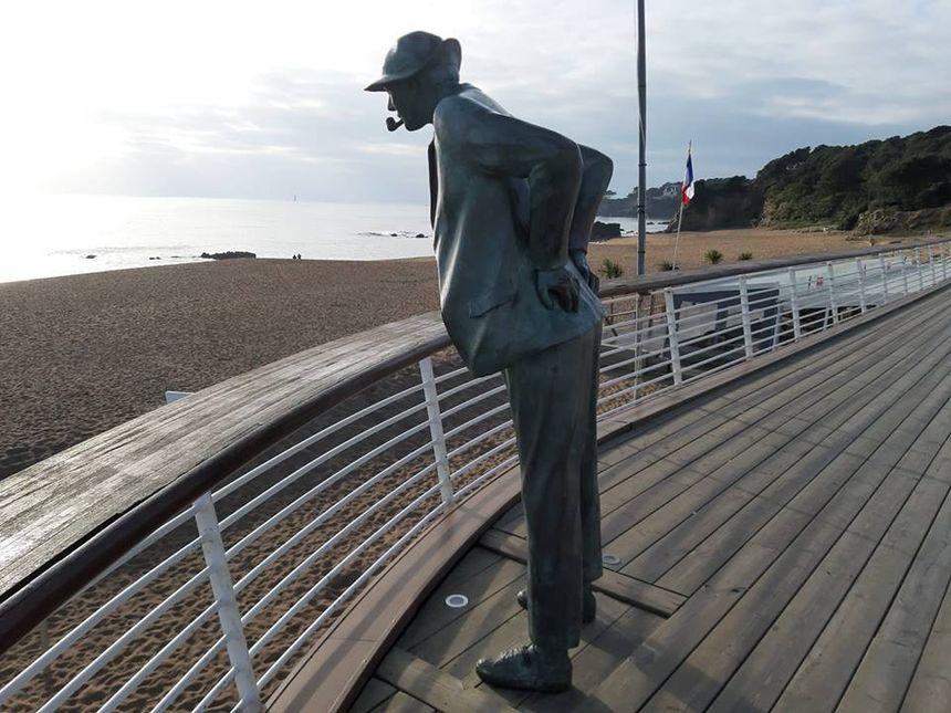 St Marc sur Mer - Mr Hulot  a retrouvé sa pipe