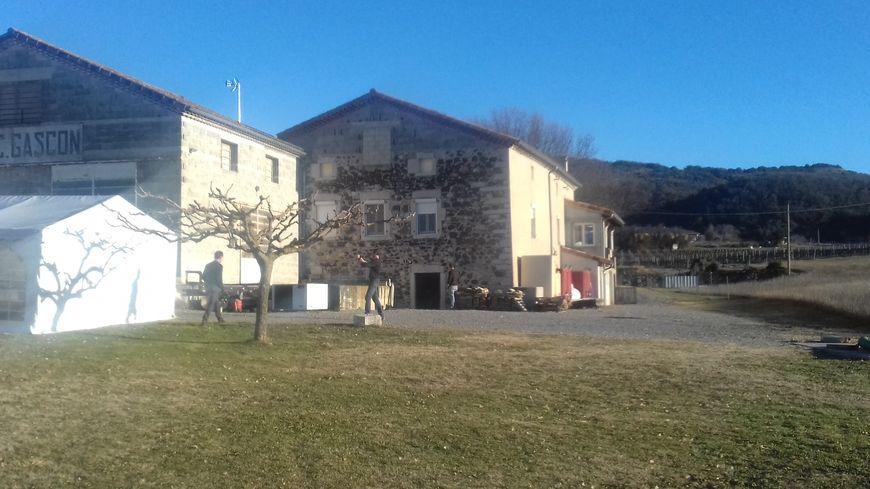 L'ancien domaine Gascon à Rochecolombe racheté par la société coopérative