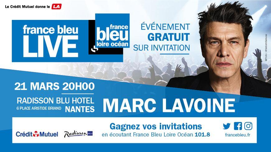 France Bleu LIVE Acoustique - Marc Lavoine
