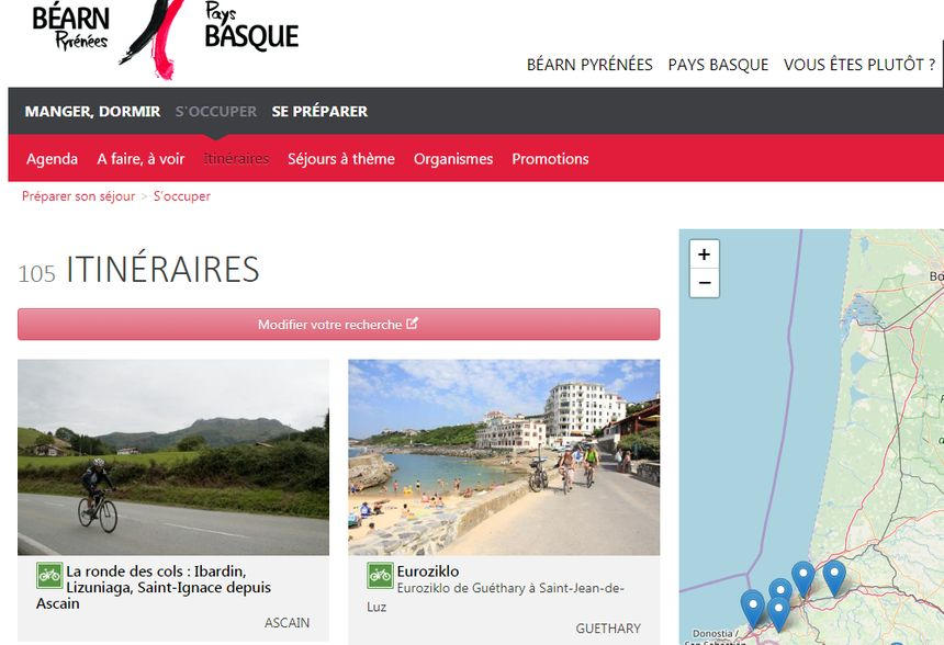 Le site Pays Basque / Béarn