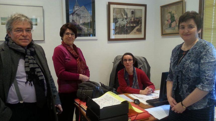L'équipe municipale de Gargilesse attend le Président de la République