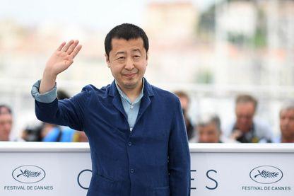 Le cinéaste Jia Zhangke le 12 mai 2018 pendant le Festival de Cannes
