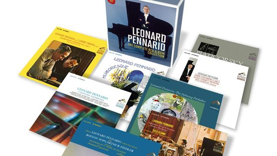 Léonard Pennario - the Complete Rca Album Collection SONY
