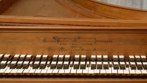 Un clavecin de 1606