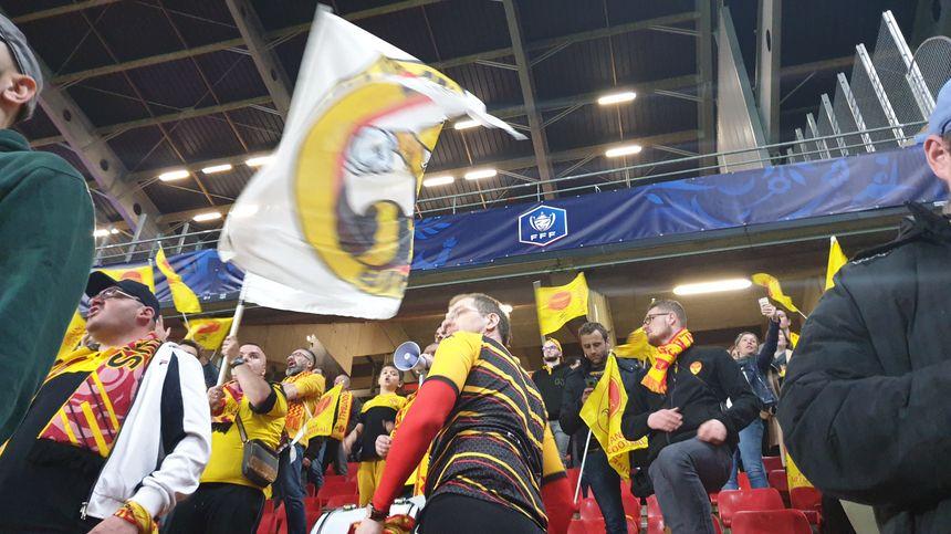 Supporters orléanais à Rennes