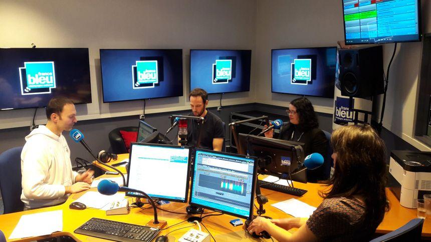 Olivier Cattiaux et ses invités en studio