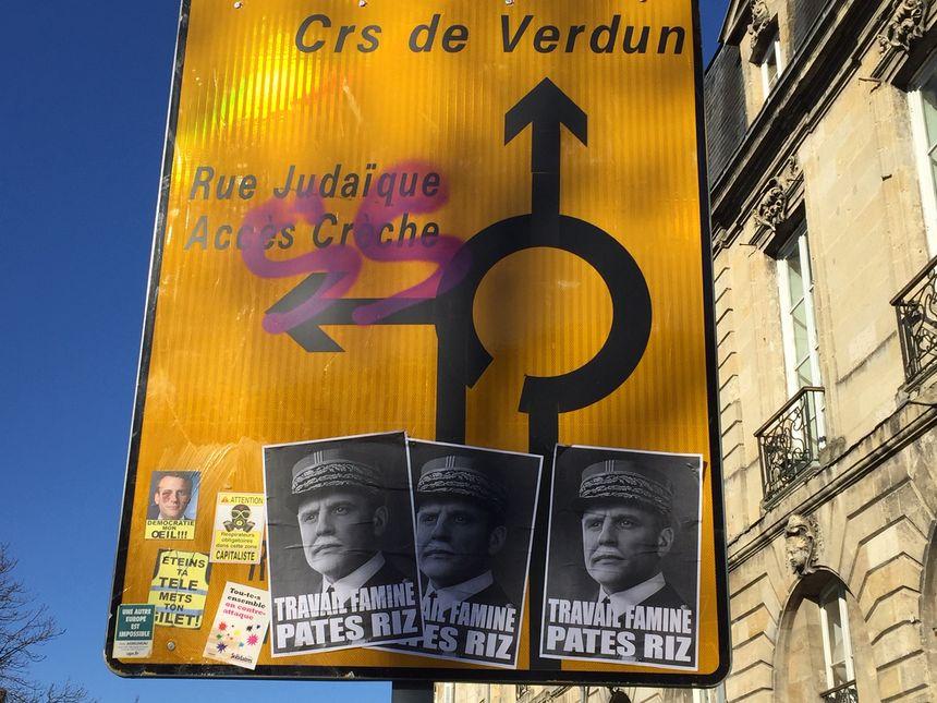Un tag antisémite à Bordeaux