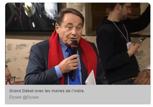 André Laignel, le maire PS d'Issoudun