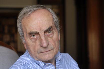 Portrait de l'écrivain, Charles Juliet le 30 mai 2012 à Lyon.