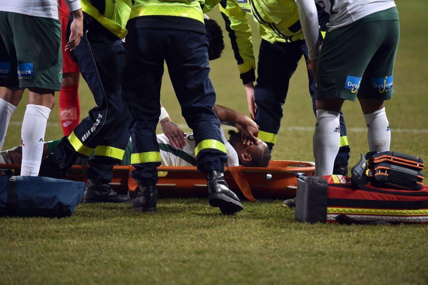 La blessure de Gabriel da Silva