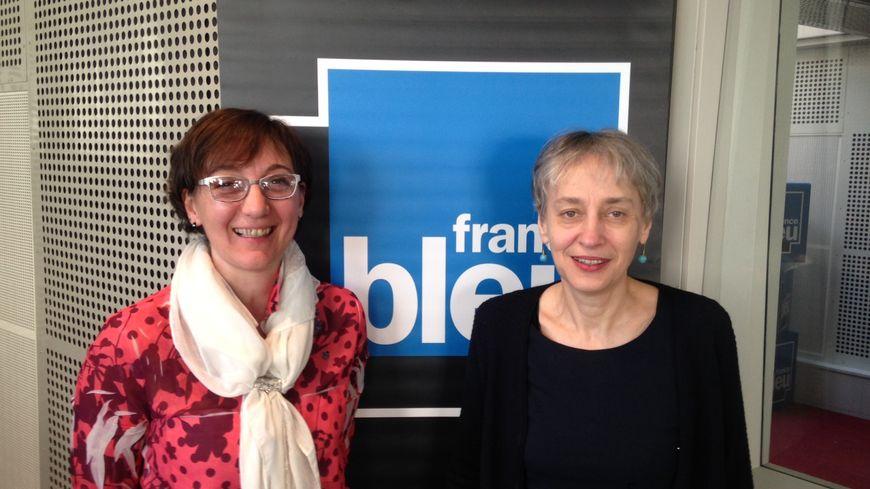 Nathalie Gardon (à gauche) et Véronique Duchalais de Gîtes de France Drôme.
