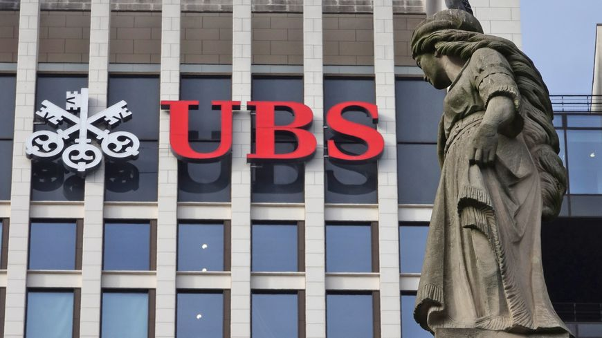 Bureaux de la banque suisse UBS, à Francfort en Allemagne, le 30 octobre 2017
