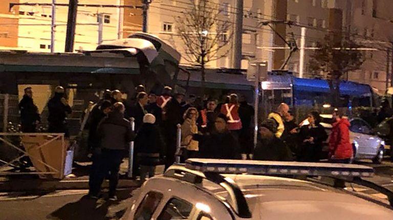Collision entre deux tramways à Issy-les-Moulineaux lundi 11 février