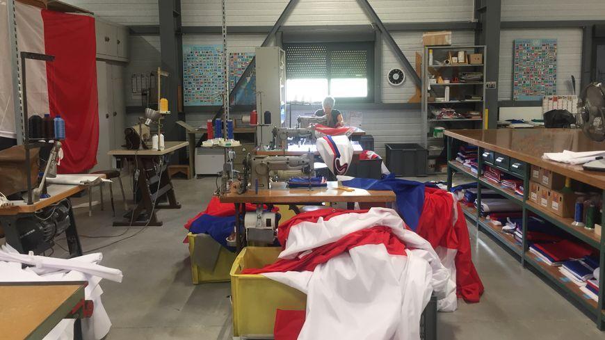 L'atelier de Manufêtes à Mercurol