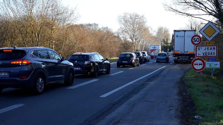 18 000 véhicules empruntent la 113 à Saint-Jean de Védas chaque jour