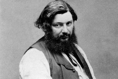 Portrait de Gustave Courbet par Etienne Carjat en 1867