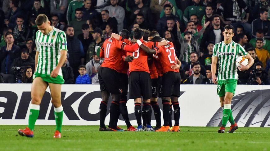 La victoire du Stade Rennais face au Bétis Séville et la qualification historique en 8èmes de finale de la Ligue Europa.
