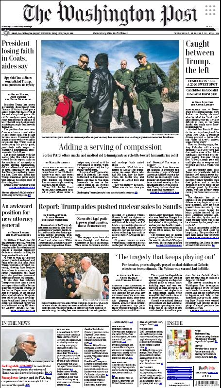 """Le Washington Post évoque un homme """"compliqué"""" connu aussi pour ses """"bizarreries"""""""