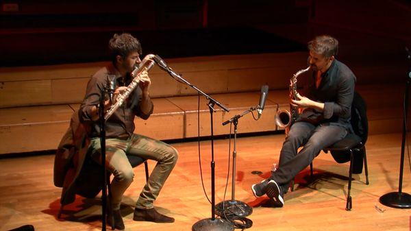 Improvisation de Jocelyn Mienniel et Sylvain Rifflet