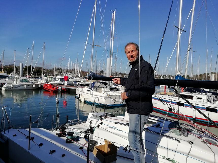 Michel Desjoyeaux sur son nouveau Figaro 3