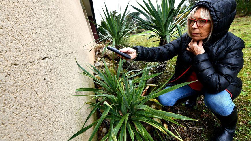 Francine Weldin fait partie des propriétaires dont la maison a été endommagée par la sécheresse de 2018