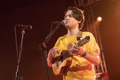 Le musicien, chanteur Zach Condon de Beirut.