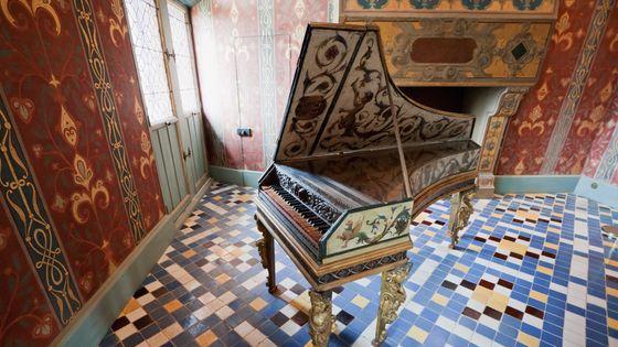 Un clavecin au Château De Blois