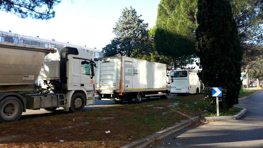 Les embouteillages de la Rocade d'Avignon