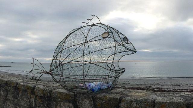 Le poisson poubelle de Michel Legay