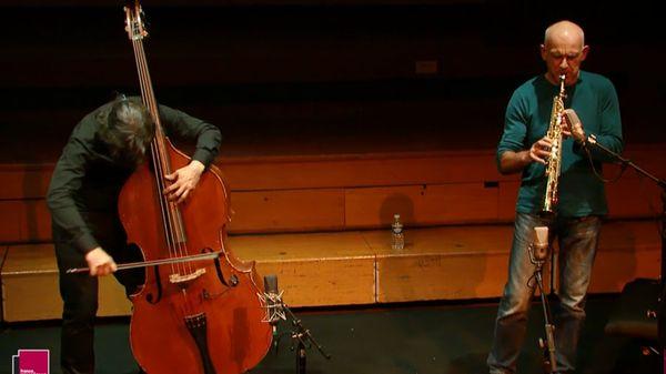 Improvisation de Fred Marty et Michel Doneda