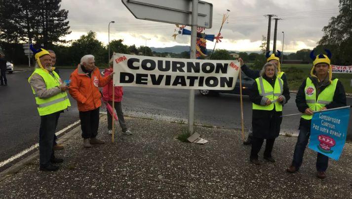 Le collectif de défense pour le contournement sud-est déviation du Cendre, Cournon, Pérignat-ès-Allier