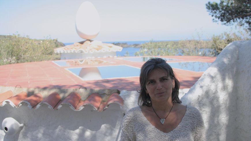 Isabelle Marcos Likouka à Cadaquès.