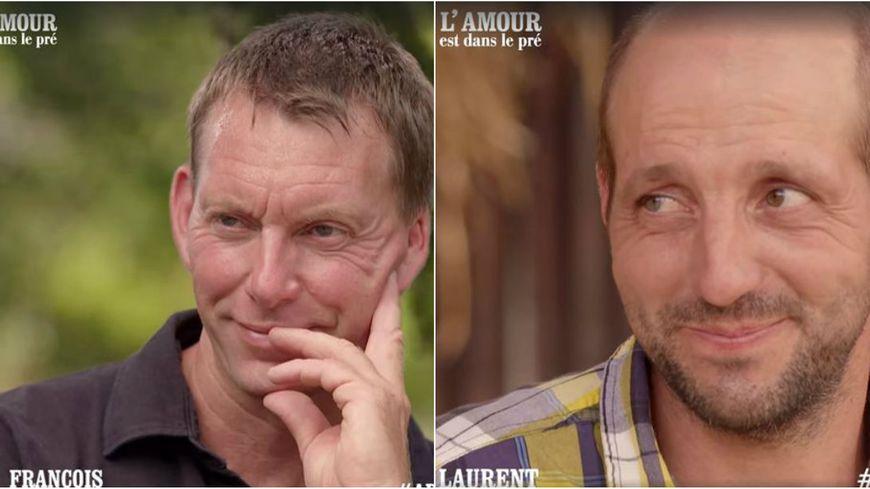 Lamour Est Dans Le Pré Deux Agriculteurs De La Région