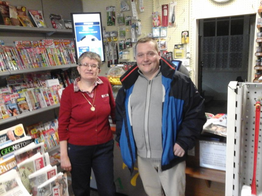 Martine et Nicolas, dans un commerce de proximité comme on les aime !