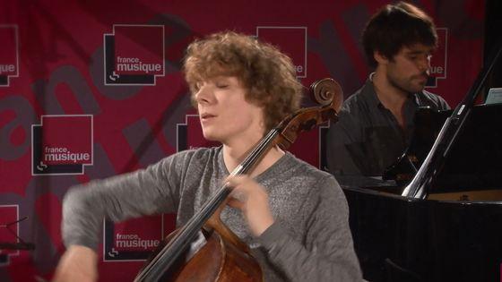 Schumann | Fantasiestücke n°3 par Bruno Philippe et Tanguy de Williencourt