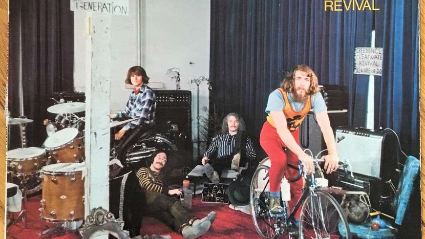 Creedence Clearwater Revival Album Cosmo's factory sorti en1970