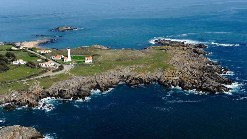 La pointe des Corbeaux sur l'Île d'Yeu.