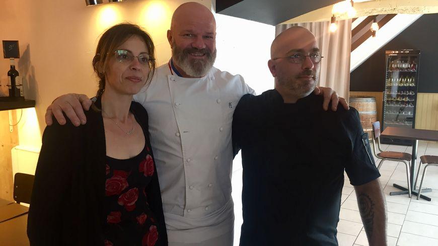 Photos Le Chef Philippe Etchebest Tourne Un Episode De