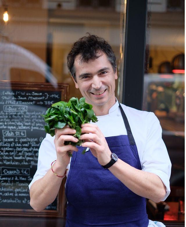 Franck Baranger, chef cuisinier
