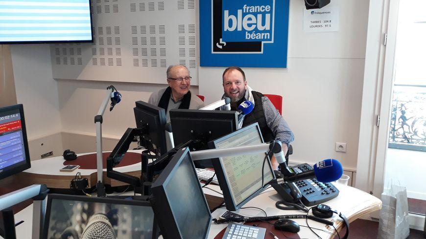 Jean-Louis et Peio Larquier  dans nos studios