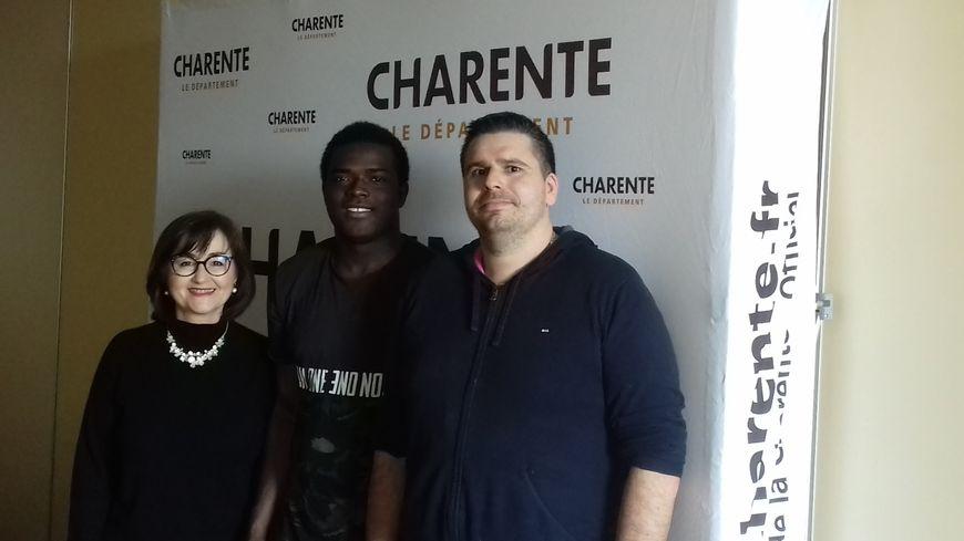 C'est le service d'aide à l'enfance du conseil départemental de la Charente qui accueille les migrants mineurs